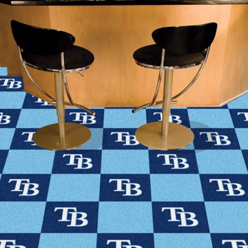 Picture of MLB - Tampa Bay Rays Team Carpet Tiles