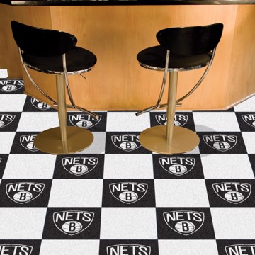 Picture of NBA - Brooklyn Nets Team Carpet Tiles