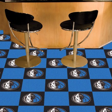 Picture of NBA - Dallas Mavericks Team Carpet Tiles