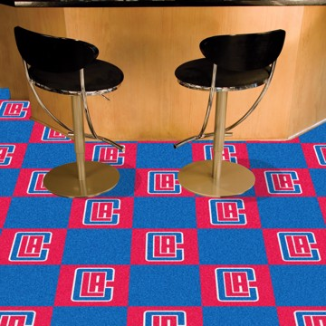 Picture of NBA - Los Angeles Clippers Team Carpet Tiles