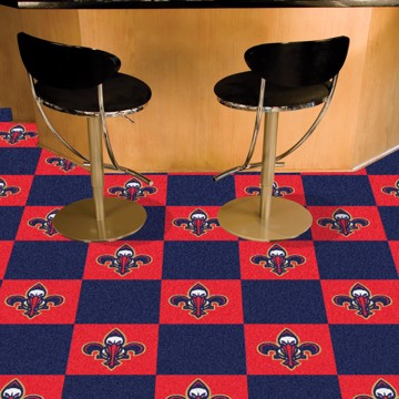 Picture of NBA - New Orleans Pelicans Team Carpet Tiles