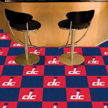 Picture of NBA - Washington Wizards Team Carpet Tiles