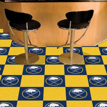 Picture of NHL - Buffalo Sabres Team Carpet Tiles