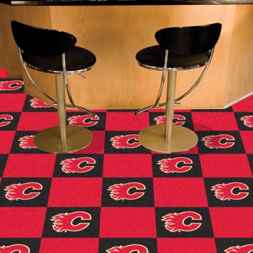 Picture of NHL - Calgary Flames Team Carpet Tiles