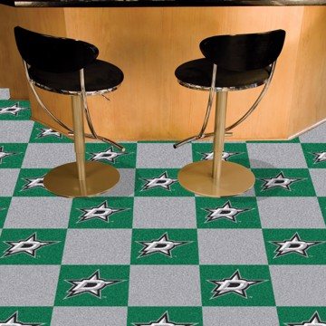Picture of NHL - Dallas Stars Team Carpet Tiles