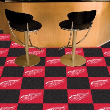 Picture of NHL - Detroit Red Wings Team Carpet Tiles