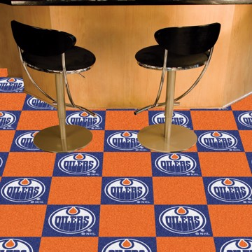 Picture of NHL - Edmonton Oilers Team Carpet Tiles