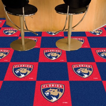 Picture of NHL - Florida Panthers Team Carpet Tiles