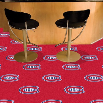 Picture of NHL - Montreal Canadiens Team Carpet Tiles