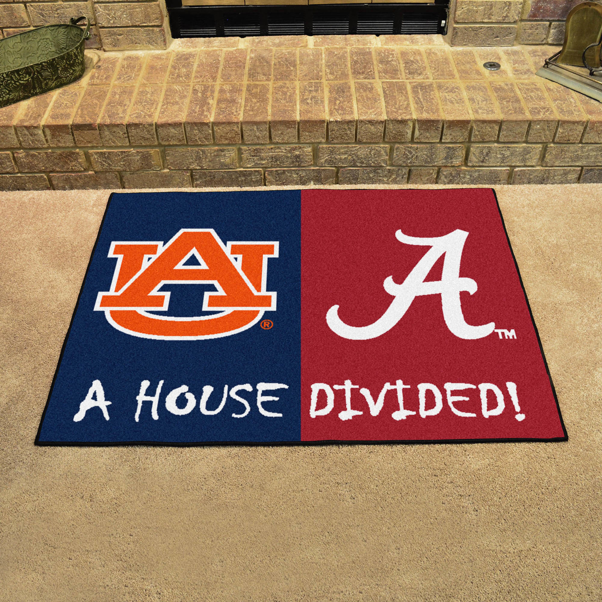 House Divided Alabama Auburn Fanmats Sports Licensing Solutions Llc