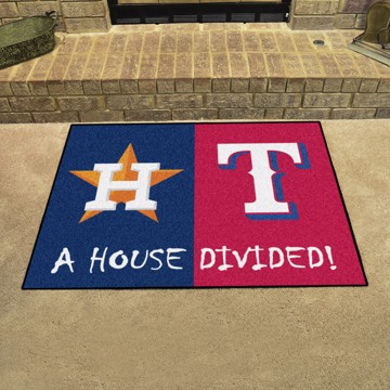 Picture of MLB House Divided - Astros / Rangers
