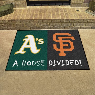 Picture of MLB House Divided - Athletics / Giants