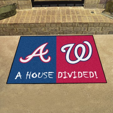 Picture of MLB House Divided - Braves / Nationals