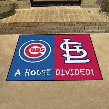 Picture of MLB House Divided - Cubs / Cardinals