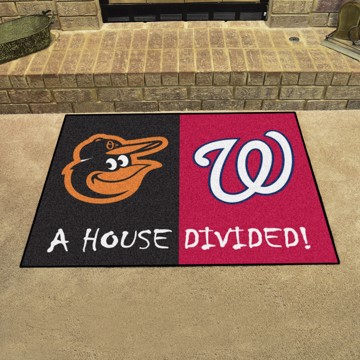 Picture of MLB House Divided - Orioles / Nationals