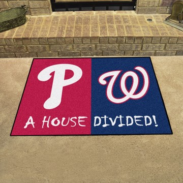 Picture of MLB House Divided - Phillies / Nationals