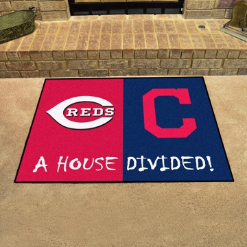 Picture of MLB House Divided - Reds / Indians
