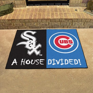 Picture of MLB House Divided - White Sox / Cubs