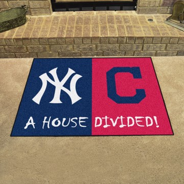 Picture of MLB House Divided - Yankees / Indians