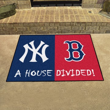 Picture of MLB House Divided - Yankees / Red Sox