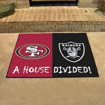 Picture of NFL House Divided - 49ers / Raiders