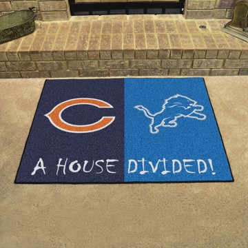Picture of NFL House Divided - Bears / Lions