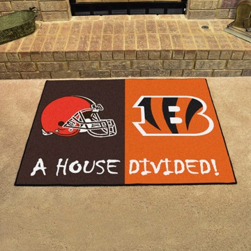 Picture of NFL House Divided - Bengals / Browns