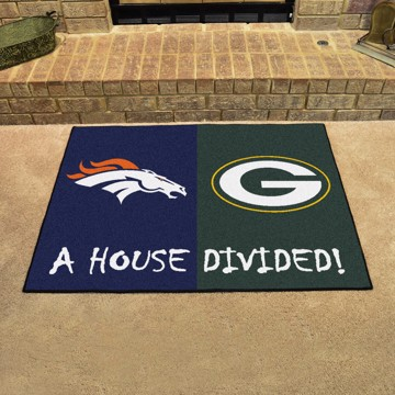 Picture of NFL House Divided - Broncos / Packers