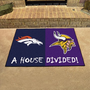 Picture of NFL House Divided - Broncos / Vikings