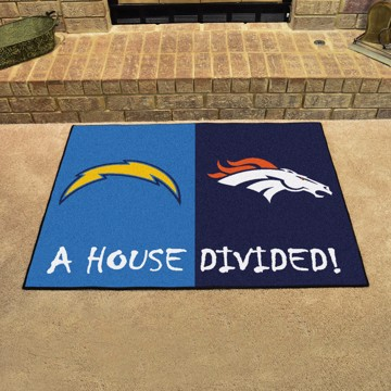 Picture of NFL House Divided - Chargers / Broncos