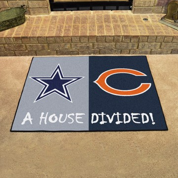 Picture of NFL House Divided - Cowboys / Bears