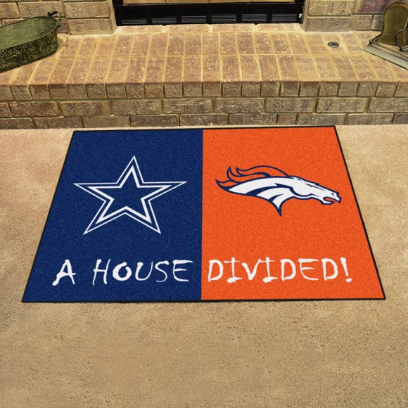 Picture of NFL House Divided - Cowboys / Broncos