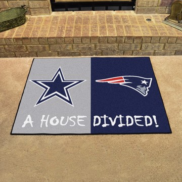 Picture of NFL House Divided - Cowboys / Patriots