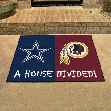 Picture of NFL House Divided - Cowboys / Redskins