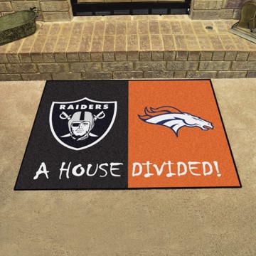 Picture of NFL House Divided - Raiders / Broncos