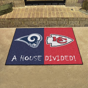 Picture of NFL House Divided - Rams / Chiefs