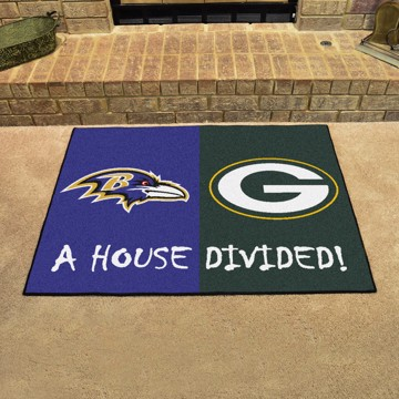 Picture of NFL House Divided - Ravens / Packers