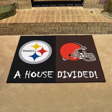 Picture of NFL House Divided - Steelers / Browns