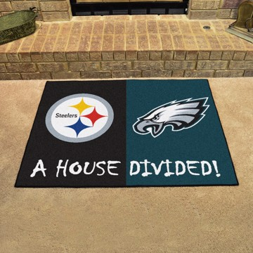 Picture of NFL House Divided - Steelers / Eagles