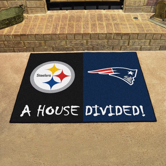 Picture of NFL House Divided - Steelers / Patriots