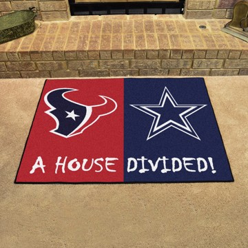 Picture of NFL House Divided - Texans / Cowboys