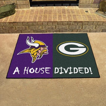 Picture of NFL House Divided - Vikings / Packers