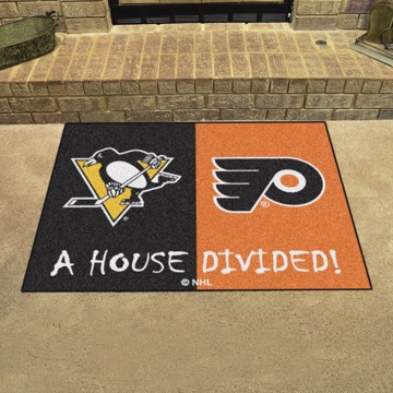 Picture of NHL House Divided - Penguins / Flyers