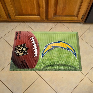 Picture of NFL - Los Angeles Chargers Scraper Mat