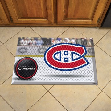 Picture of NHL - Montreal Canadiens Scraper Mat