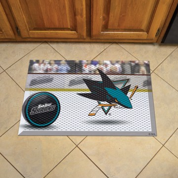 Picture of NHL - San Jose Sharks Scraper Mat