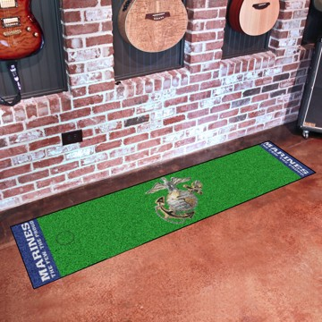 Picture of U.S. Marines Putting Green Mat