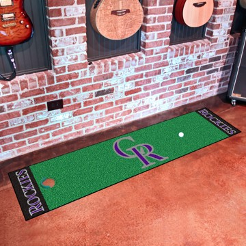 Picture of MLB - Colorado Rockies Putting Green Mat
