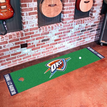 Picture of NBA - Oklahoma City Thunder Putting Green Mat