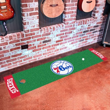Picture of NBA - Philadelphia 76ers Putting Green Mat